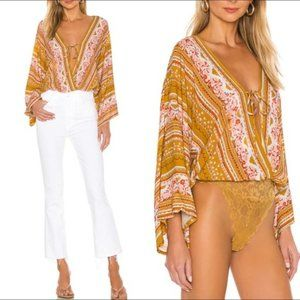 Free People Intimately For You Floral Bodysuit